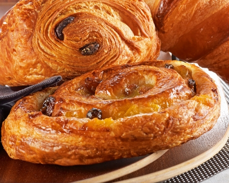"""Pain aux raisins 29,8% Beurre Charente Poitou """"Eclat du terroir"""" """""""