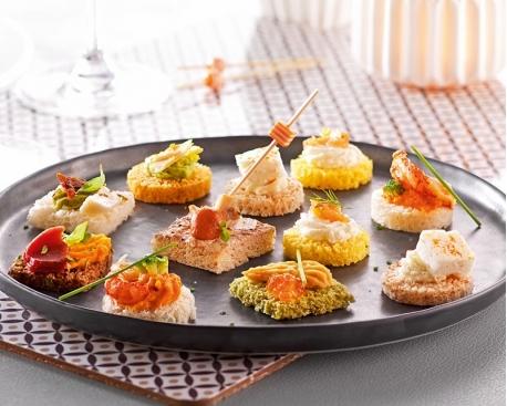 """Plateau de 48 toasts """"Prestige Gourmand"""""""