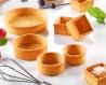 Tartelette sucrée beurre ronde bord droit