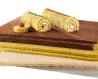 Plaque de pain aux épinards