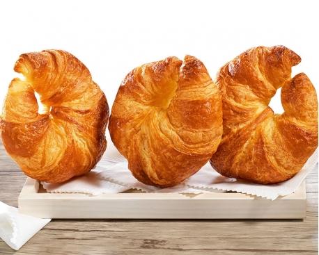 """Croissant prépoussé courbé """"Eclat du terroir"""""""