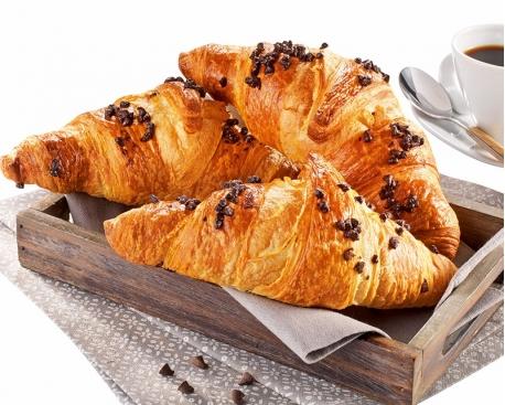 Croissant fourré choco noisette