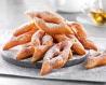 Bugnes à la fleur d'oranger cuites