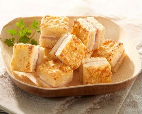 Mini croque jambon