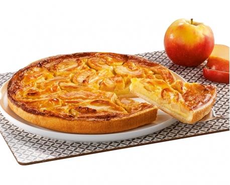 """Tarte normande aux pommes """"pur beurre"""""""