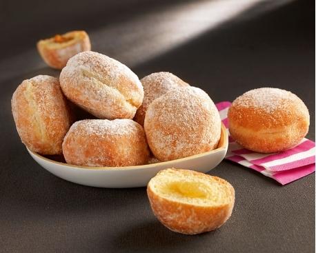 Mini beignet fourré pommes