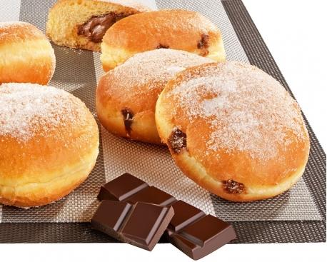 Beignet fourré goût chocolat noisette