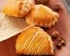 Chausson à la pâte à tartiner aux noisettes