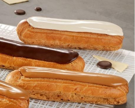 Eclair pâtissier fondant vanille