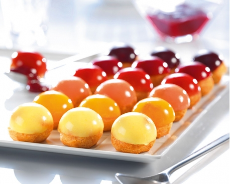 Mini choux 'Bulles de fruits'
