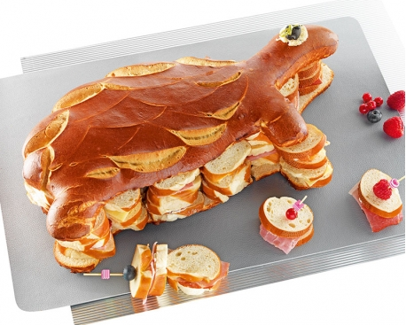 Tortue garnie 40 toasts