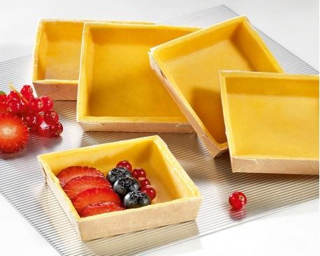 Fond de tarte sucré carré