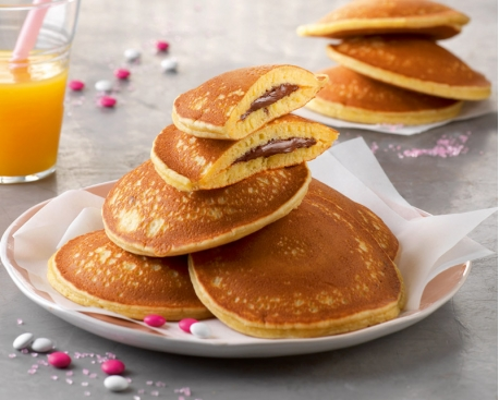 """Pancakes """"coeur Nutella"""""""