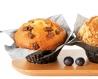 Maxi muffin nature et chunks de chocolat