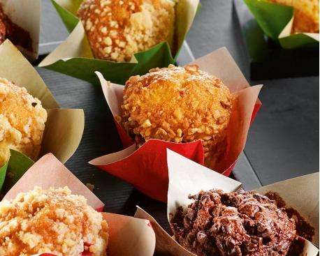 Mini muffin fourré caramel