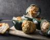 Mini muffin fourré boursin ail et fines herbes