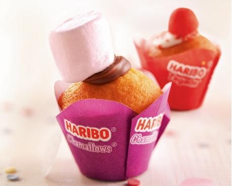 Mini muffin chamallow