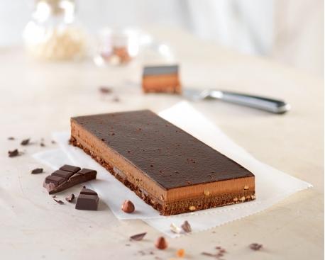 1/2 cadre chocolat caramel